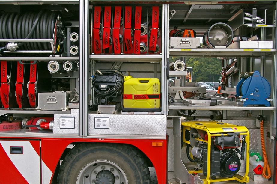 fire truck and fire engine equipment