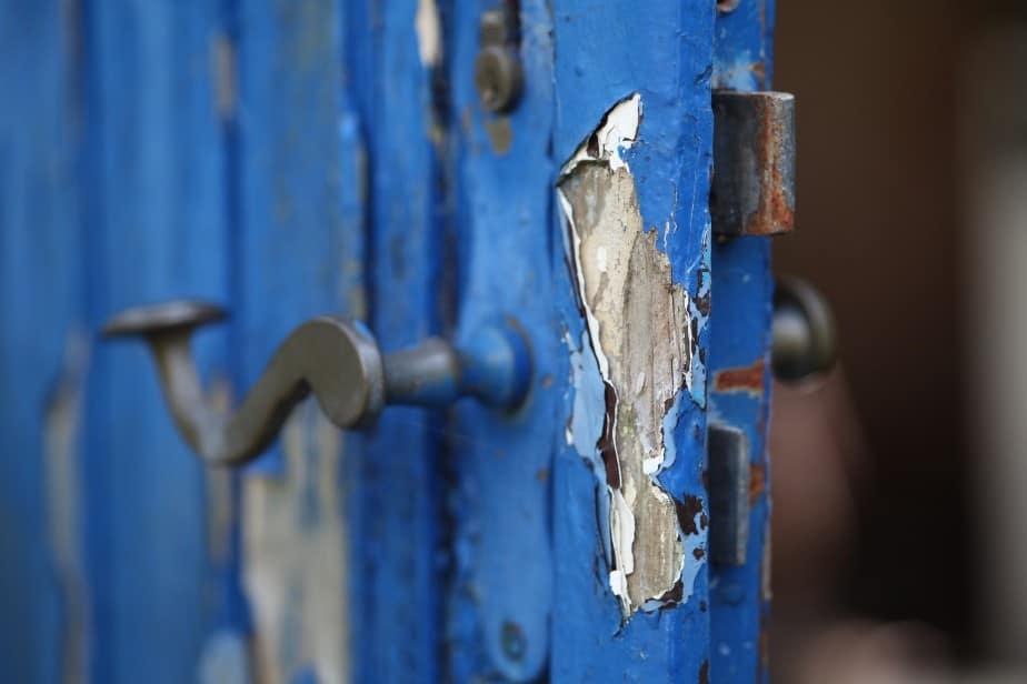 broken door
